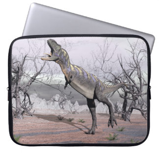 Sleeve Para Notebook Dinossauro do Aucasaurus - 3D rendem