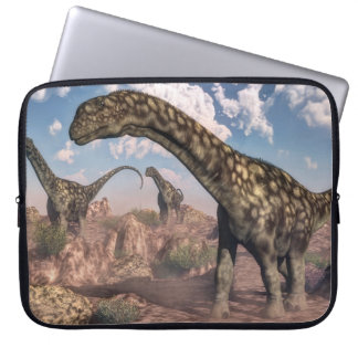Sleeve Para Notebook Dinossauros do Argentinosaurus - 3D rendem