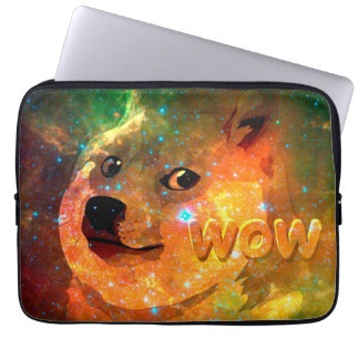 Sleeve Para Notebook espaço - doge - shibe - uau doge