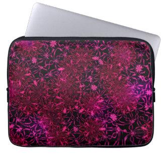 Sleeve Para Notebook flores retros de 13 polegadas