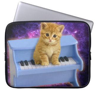 Sleeve Para Notebook Gato do piano