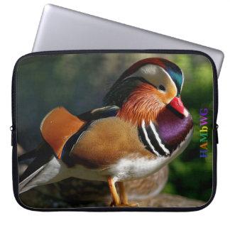 Sleeve Para Notebook HAMbWG - patinho - a bolsa de laptop do neopreno