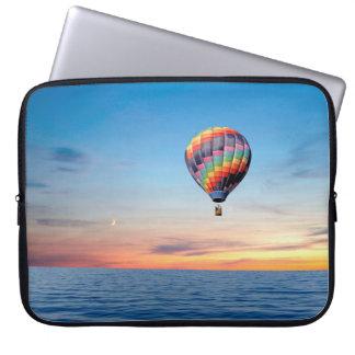 Sleeve Para Notebook Imagem do balão de ar quente para a bolsa de