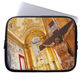 Sleeve Para Notebook Jesus na cruz