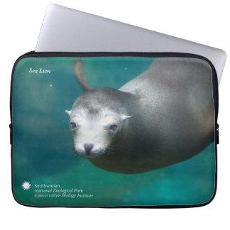 Sleeve Para Notebook Leão de mar de Smithsonian |