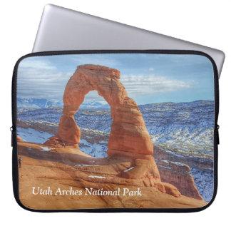 Sleeve Para Notebook O arco delicado em Utá arqueia o parque nacional
