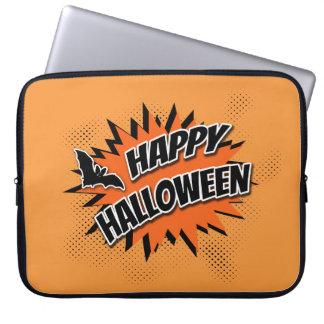 Sleeve Para Notebook O Dia das Bruxas feliz