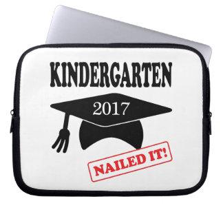 Sleeve Para Notebook O jardim de infância 2017 pregou-o