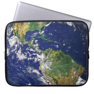 Sleeve Para Notebook Os Americas, como visto do espaço