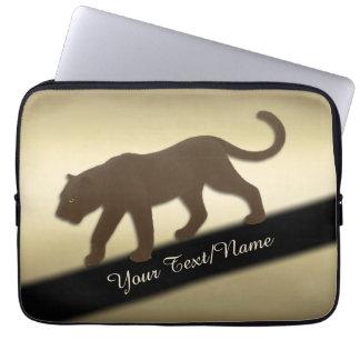 Sleeve Para Notebook Pantera de Florida no ouro pessoal