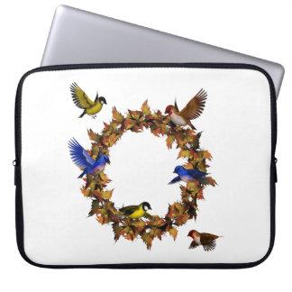 Sleeve Para Notebook Pássaros do outono