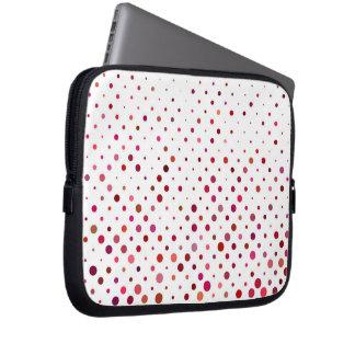 Sleeve Para Notebook Pontos em cores mornas
