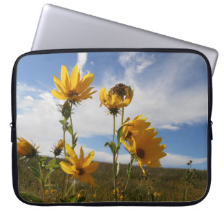 Sleeve Para Notebook Por do sol da pradaria
