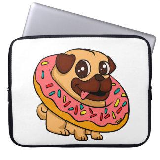 Sleeve Para Notebook Pug da rosquinha