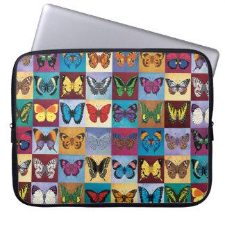 Sleeve Para Notebook Retalhos da borboleta