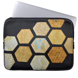 Sleeve Para Notebook Saco do laptop da abelha de rainha