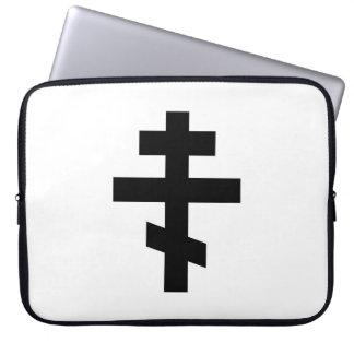 Sleeve Para Notebook símbolo transversal do deus da religião da igreja