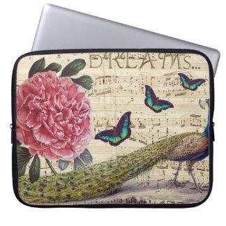 Sleeve Para Notebook Sonhos do pavão