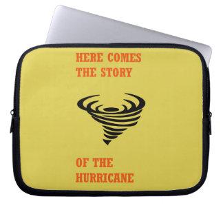 Sleeve Para Notebook Vem aqui a história do furacão