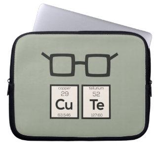 Sleeve Para Notebook Vidros bonitos Zwp34 do nerd do elemento químico