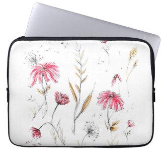 Sleeve Para Notebook Wildflowers