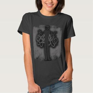 SlenderMan com tentáculos T-shirt