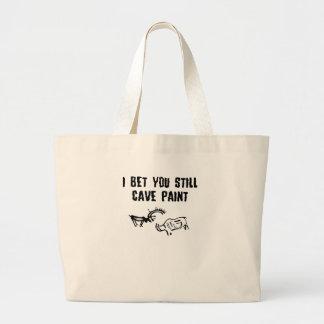Slogan de insulto bolsas de lona
