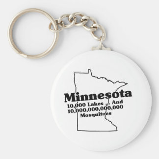Slogan do estado de Minnesota Chaveiro