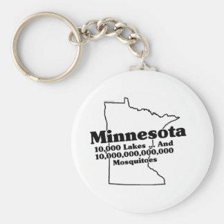 Slogan do estado de Minnesota Chaveiros