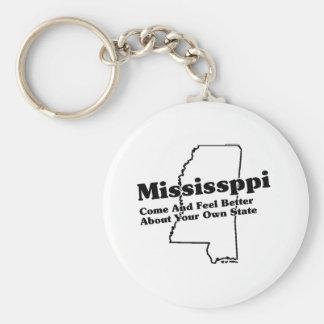 Slogan do estado de Mississippi Chaveiro