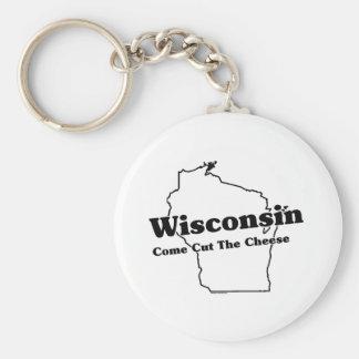 Slogan do estado de Wisconsin Chaveiro
