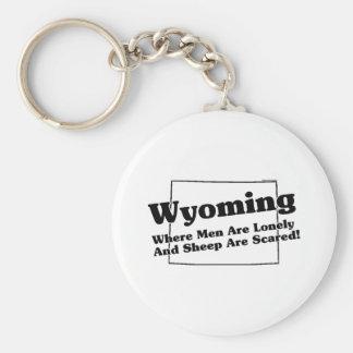 Slogan do estado de Wyoming Chaveiro