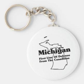 Slogan do estado do Michigan Chaveiro