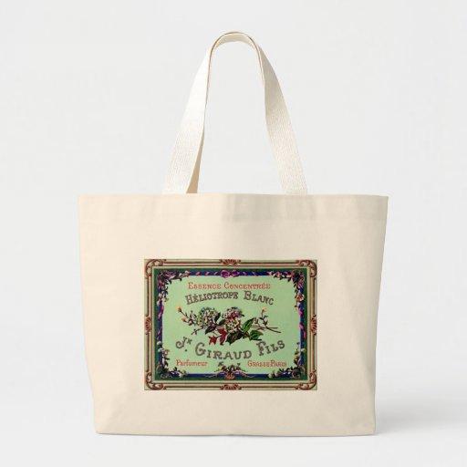Slogan do vintage bolsas de lona