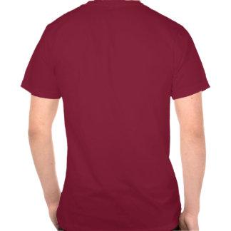 Slogan enganchado carne do divertimento do óleo de camiseta