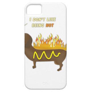 Slogan engraçado da piada do cachorro quente capas para iPhone 5