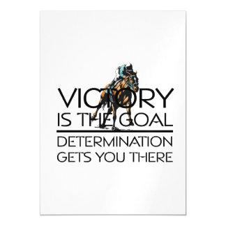 Slogan SUPERIOR da vitória da corrida de cavalos