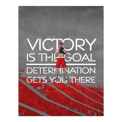 Slogan SUPERIOR da vitória do encaixotamento Panfleto Coloridos