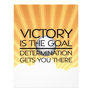 Slogan SUPERIOR da vitória do voleibol Panfleto