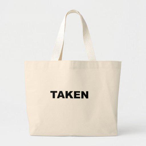 Slogan tomado bolsa