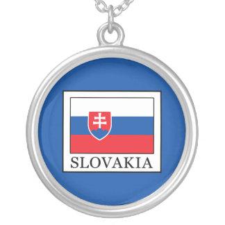 Slovakia Colar Banhado A Prata