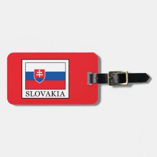 Slovakia Etiqueta De Bagagem