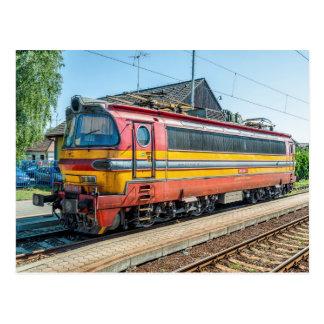 Slovakia ZSSK locom elétrico. tipo 240 Cartão Postal
