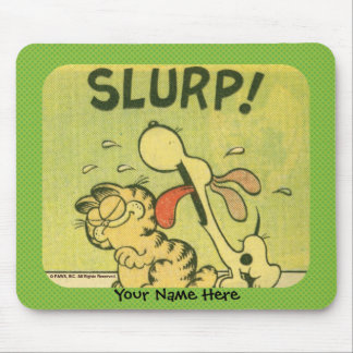 Slurp! Mousepad de Odie