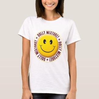 Smiley da mistura da zorra camiseta