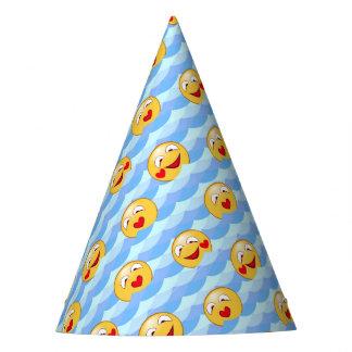 Smiley da onda chapéu de festa