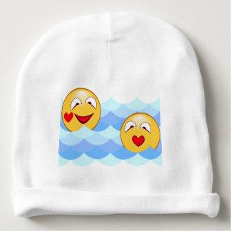 Smiley da onda gorro para bebê