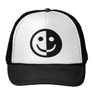 Smiley de Yin e de Yang Boné