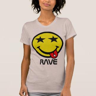 Smiley do ácido do delírio de Kawaii Camiseta