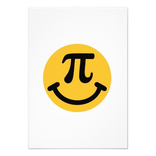 Smiley do Pi Convite